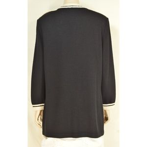 St. John Jackets & Coats - St John Marie Gray jacket blazer M santana knit bl